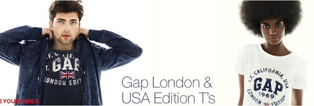 Luxetips Style: GAP London Edition Tees