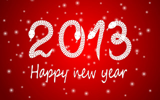 Happy New Year: My 2013 Resolutions