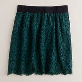 Lace skirts at J Crew: Sophisticated Elegance