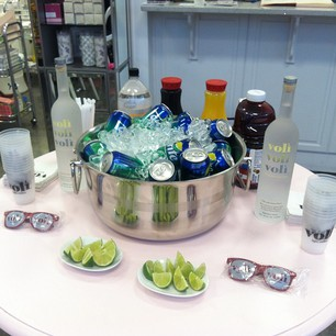 Luxetips Events: Event Re-cap Nails and Cocktails™ at SugarCoat Beauty Buckhead With Voli Light Vodka