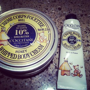Luxetips Beauty: L'Occitane New Honey Whipped Body Cream and Hand Cream