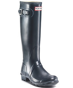 Lust Item of the Week: Navy Blue Hunter Boots!