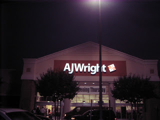 A.J. Wright! Like TJ MAXX but Less Expensive