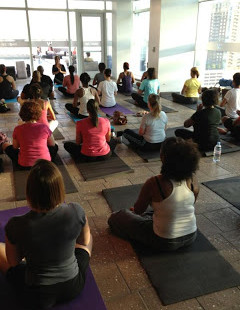 Luxetips Events: Sunset Yoga and Party With W Hotels and Voli Vodka