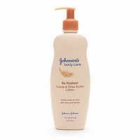 Hot Drugstore Find of the Week: Johnson's Body Care Be Radiant Cocoa & Shea Butter Lotion