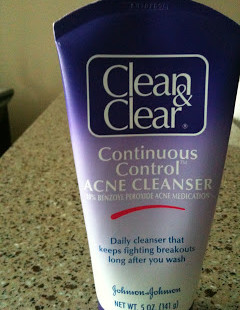 Hot Drugstore Find of the Week: Clean & Clear Continuous Control Acne Cleanser