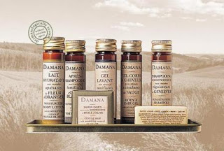 Damana Bath and Body Products.