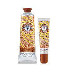 "12 Days of Luxetips Before Christmas Giveaway: L""Occitane Shea Butter Hand Cream and Lip Balm Duo"