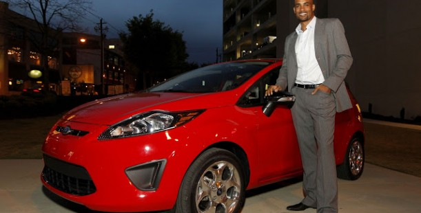 Luxetips Automobiles! 2012 Ford Fiesta & Boris Kodjoe at The Atlanta International Auto Show