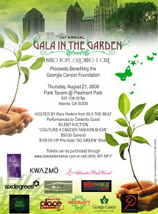Reminder: Gala In The Garden Event & Giveaway!