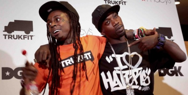 luxetips style lil wayne appearance at macy�s with