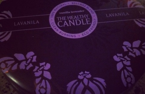 Luxetips Beauty! La Vanilla Healthy Candle Vanilla and Lavender