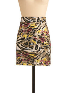 Modcloth's Brush With the Wild Skirt!