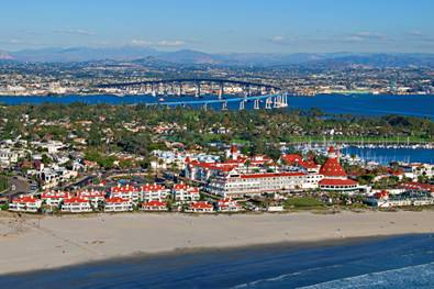 Luxetips Travel: Coronado Beach Named the No. 1 Beach In America