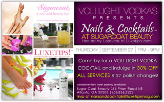 Nails and CocktailsTM at Sugar Coat Beauty by Voli Vodka