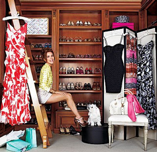 Fun Fridays! Celebrity Shoe Closets!