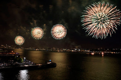 Luxetips Travel: July 4th Fireworks on the Hudson at Mandarin Oriental Hotel NYC