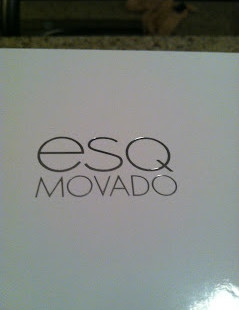 Luxetips Style! MOVADO ESQ ONE WATCHES
