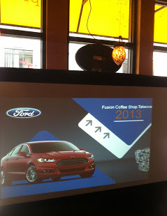 Luxetips Automobiles: FORD'S 2013 FUSION COFFEE SHOP TAKEOVER AT URBAN GRIND