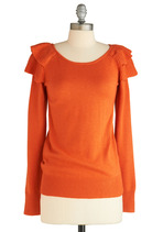 Luxetips Style! Modcloth Presents the Pumpkin Remoulade Top