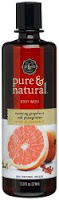 Hot Drugstore Find of the Week: Pure and Natural Grapefruit and Pomegranate Body Wash