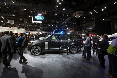 Luxetips Automobiles! New 2014 Land Rover Range Rover Autobiography Black Debuts At L.A. Auto Show
