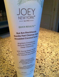 Luxetips Beauty! Joey New York Bye Bye Blackheads Gentle Peel Cleanser
