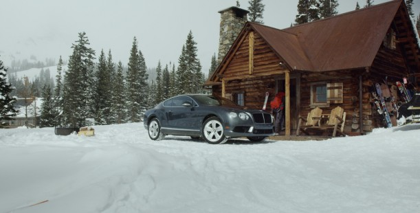 Luxetips Automobiles! Bentley Motors In Search of Snow: Featuring The Continental GT V8