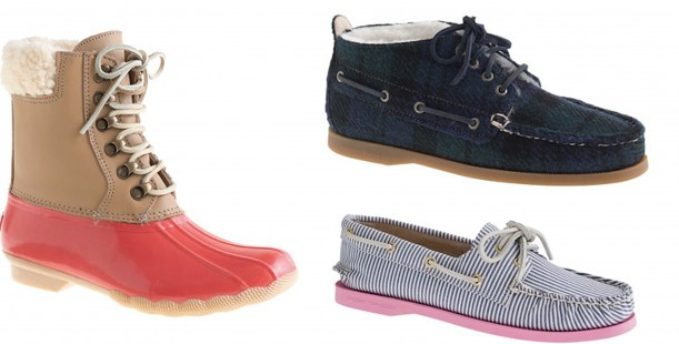 Luxetips Style! Sperry Top-Spider for J.Crew Leather Shearwater Boots: The Snow Is Coming!