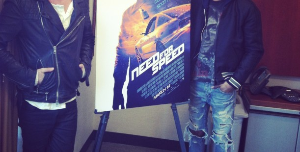 Luxetips Events! New Movie Need for Speed Comes Out This Friday! Check out this Interview With Aaron Paul and Kid Cudi