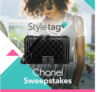 Luxetips Style! Styletag Fashion App Giving Away a CHANEL HANDBAG!