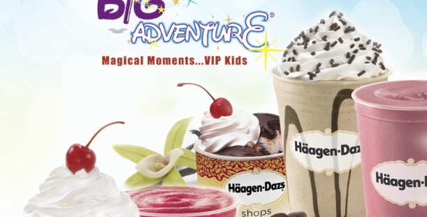 Luxetips Events! Häagen-Dazs Ice Cream Shops Support Bert's Big Adventure on July 25th!
