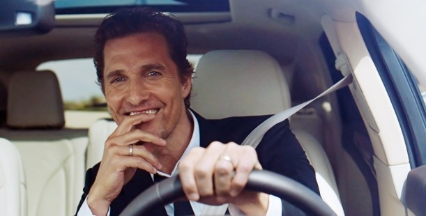 Luxetips Automobiles! Oscar Winner Matthew McConaughey Collaborates With The Lincoln Motor Company