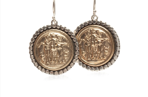 Luxetips! 12 Days of Luxetips: Winner of Esbe Designs Ancient Greek Coin Earrings