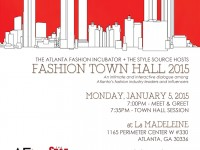 Luxetips Style! The Atlanta Fashion Incubator Town Hall Meeting