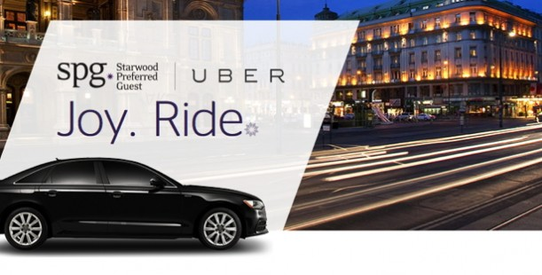 Luxetips Travel! Starwood Hotels Teams Up With Uber!
