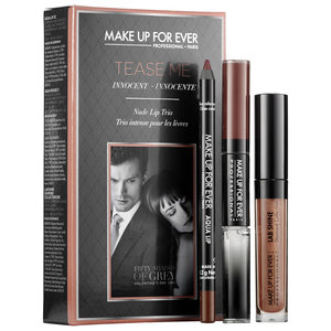 Luxetips Beauty! Make Up For Ever's Fifty Shades of Grey Inspired Collection