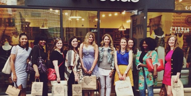 Luxetips Style! Atlanta Bloggers Take Over Emory Point Shopping District