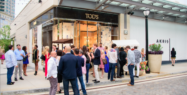 Luxetips Events! Re-Cap of Tod's Grand Opening in Buckhead