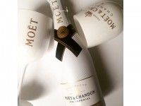 Luxetips Beauty! Nails and Cocktails™ MOET & CHANDON Imperial Ice & Morgan Taylor Nail Polish