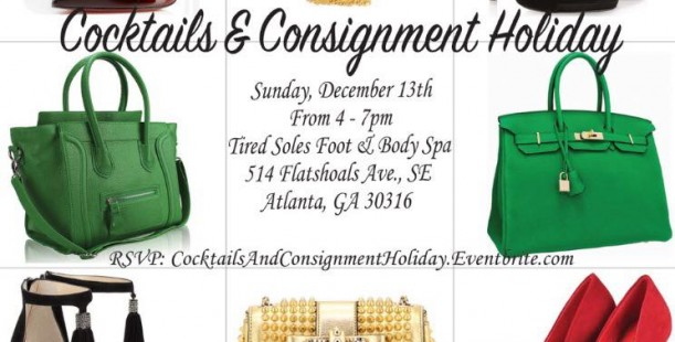 Luxetips Events! Step & Repeat Boutique Cocktails and Consignment Holiday Party