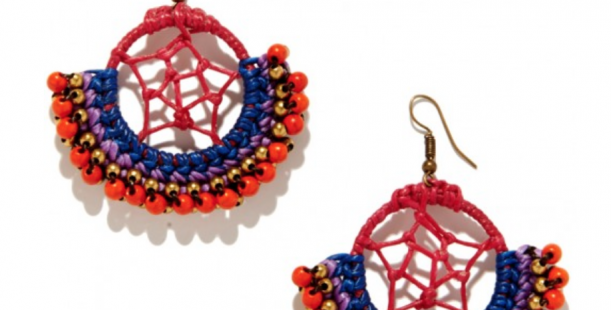 Luxetips! 12 Days of Luxetips Before Christmas: Winner of Roberta Roller Rabbit Dream Catcher Earrings!