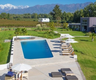 Luxetips Travel! Entre Cielos Luxury Wine Hotel & Spa: Mendoza, Argentina