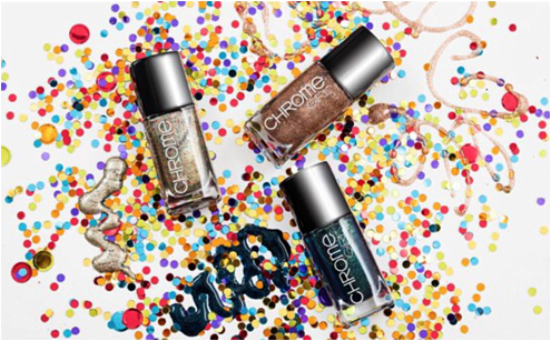 Luxetips Beauty! Chrome Girl Nail Lacquer: All vegan, 8-free formula