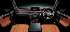 2016-Lexus-LX-570-Japan-Spec-interior-sun-flare-brown