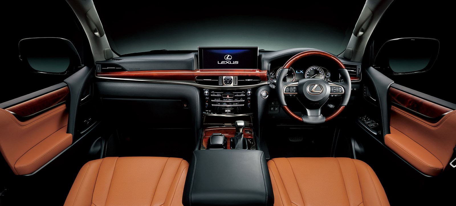 Captivating 2016 Lexus LX 570 Japan Spec Interior Sun