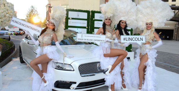 Luxetips Automobiles! Lincoln Motor Company Sponsors Le Dîner en Blanc Atlanta At The Shops of Buckhead