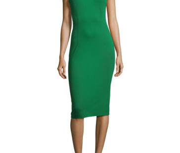Luxetips Style! Escada Power Sheath Dress: Luxe and Powerful
