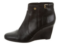 Luxetips Style! The Great Purge: Giveaway! Tory Burch Leather Wedge Booties